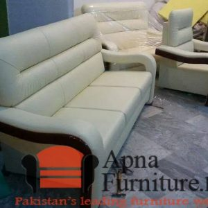White sofa set for sale in Lahore Apnafurniture.pk Furniture Village Pakistan
