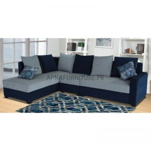 comfortable l shaped couch with back cushions