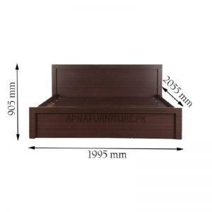Cali double bed dimensions