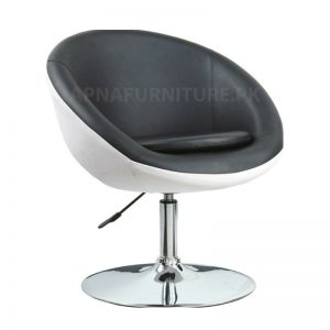 Bar stool in leatherette
